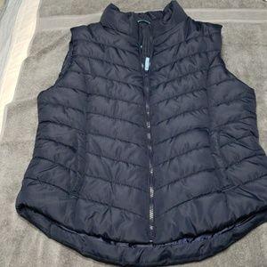 Aeropastle navy blue puffy vest.  Size xl